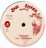 Earl Cunningham - African Man / Art & Craft All Stars - Man From Africa (Jah Shaka Music) UK 122;